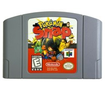 Nintendo 64 Game Pak Pokemon Snap Video Game Simulation Rail Shooter Style 1999 - $32.62