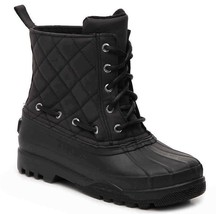 New Women's Paul Sperry Gosling Duck Waterproof Quilted Top Rubber Boots NIB image 2