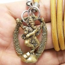 GANESHA HINDU GOD SUCCESS GANAPATI VINAYAKA GANESH BUDDHI DEVA PENDANT N... - $19.79