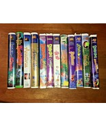 Lot of 12 Family Based VHS Tapes - Hard Case - Scooby-Doo, etc.  GUC - - $15.84