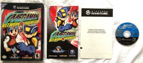 ☆ Mega Man Network Transmission (Nintendo GameCube 2003) Complete in Case Game ☆