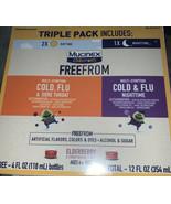 3 Pack- Mucinex Children's FreeFrom 2- Day & 1- Nighttime - $19.39