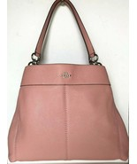 New Coach 28997 Lexy Pebble Leather Shoulder Bag handbag Petal - $155.00