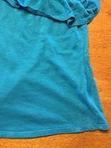 Arizona Girl's Blue One Shoulder Shirt / Blouse - Size: Medium 7/8 image 5