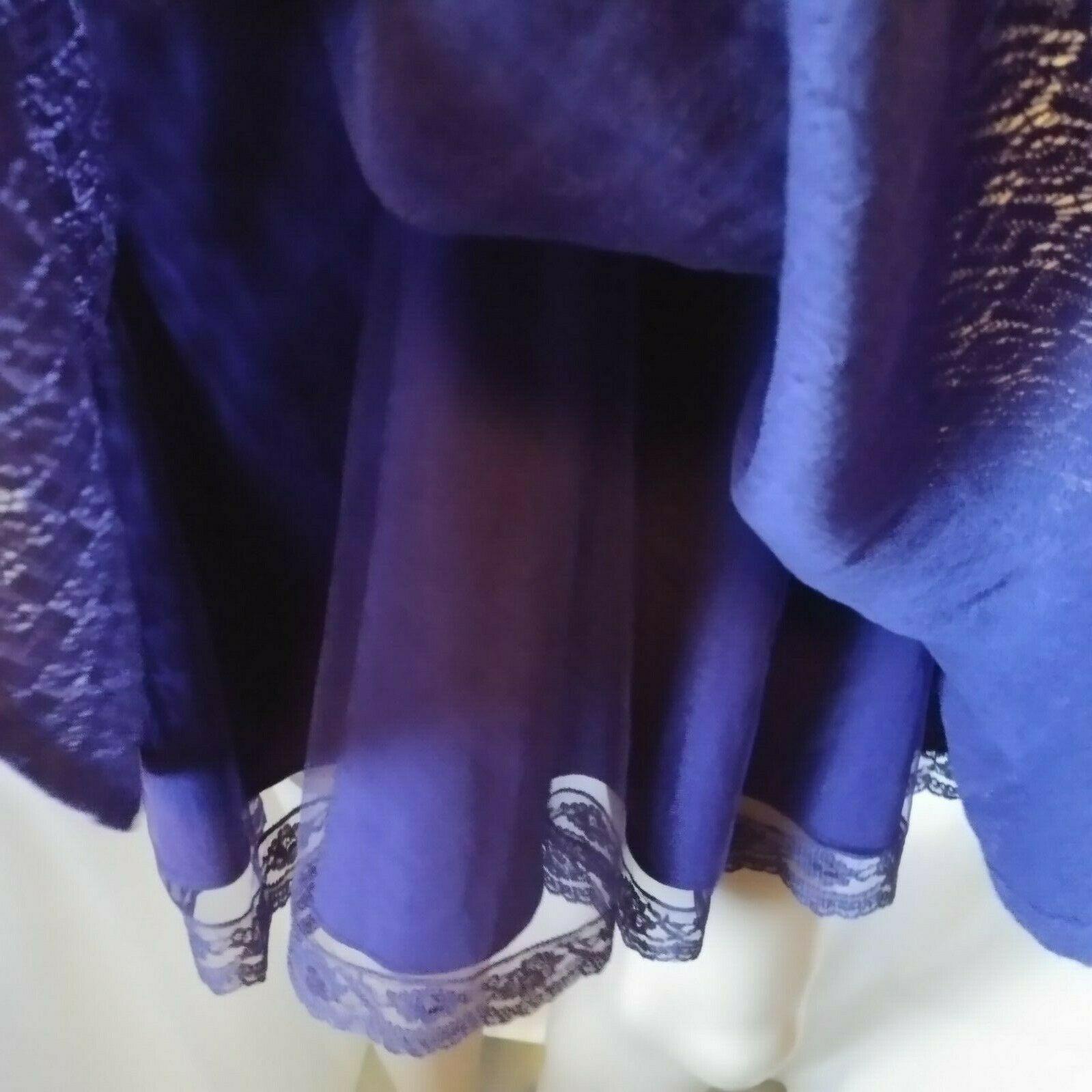 Free People Lace Dress Size 2 Purple Lined Boho Sleeveless Short Fit Flare