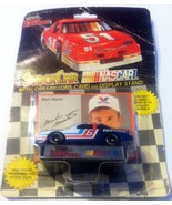MARK MARTIN #6 Stock Car NASCAR w/ Collectors Card & Display Stand Die C... - $6.35