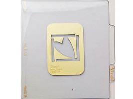 Sizzix Metal Embossing Plate, Heart Icon #38-9774 image 1