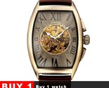 watch men mechanical wrist watches mens fashion skeleton retro bronze watch clock thumb155 crop