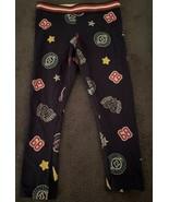 365 Kids from Garanimals Girls Navy Blue Unicorn Long Leggings (SIZE 4) - $11.63