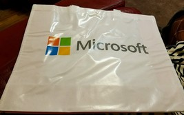 """NEW Lot Of 90 Microsoft Windows Reusable Large Shopping Bags 15""""x19"""" - ₹12,408.87 INR"""