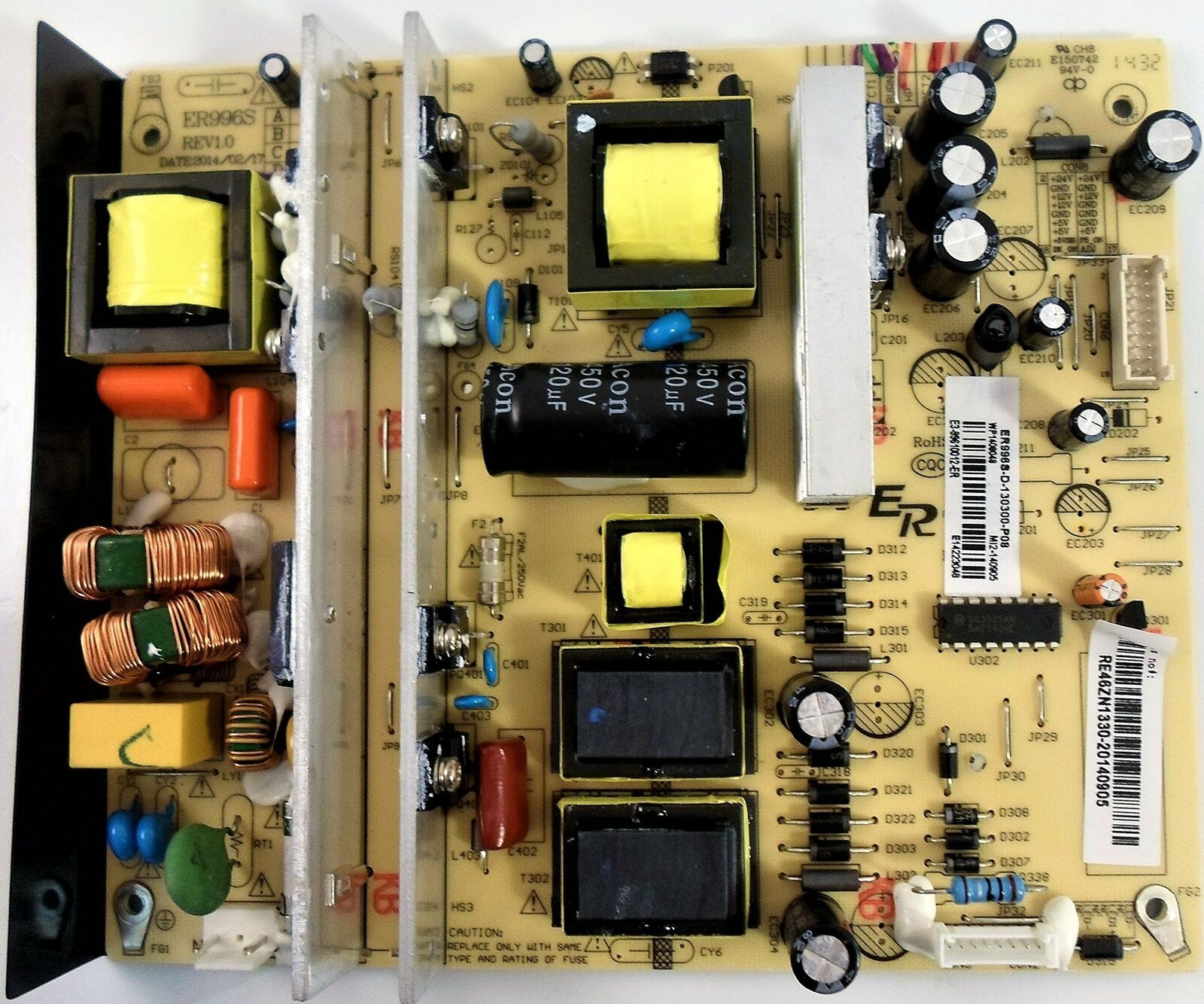 Primary image for RCA RE46ZN1330, ER996S Power Supply / LED Board
