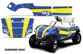 Cart Graphics Kit Decal Sticker Wrap For Yamaha Golf Car 1995-2006 DMNDR... - $294.97