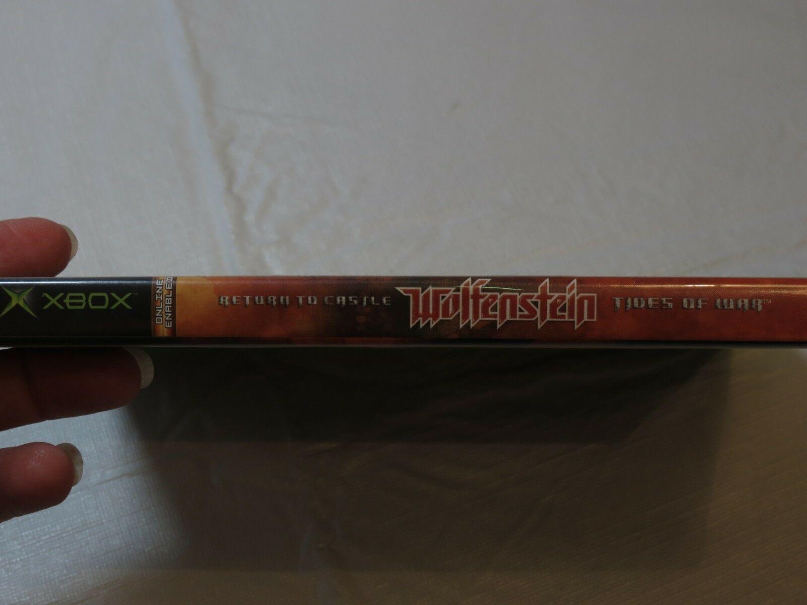 Return To Castle Wolfenstein: Maree Of War Microsoft Xbox 2003 Sparatutto