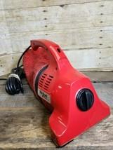 Vintage Royal Dirt Devil Handheld Vacuum Cleaner Model #103 Red - $36.76