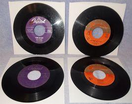 Eight 45 RPM Pop Record Lot Al Martino Vic Damone Sinatra Martin Sammy Davis 2A - $6.00