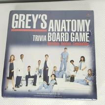 Grey's Anatomy Trivia Board Game Cardinal 2007 Sealed New - $74.20