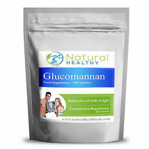 Glucomannan Konjac fibre Reduction of body weight pills best natural die... - $2.83+