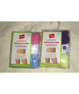 Hanes Ultimate Boyshorts  Womans 3 Pack PANTIES Size -6  - $7.79