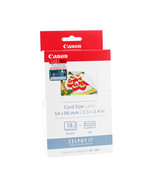 Canon Color Ink Cassette + 54 x 86 mm Full-Size Label Set (18 Sheets), K... - $27.99
