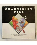 CHAUVINIST PIG Board Game 1991 TIGER Adult Party Battle of the Sexes COM... - $9.90