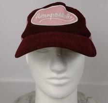 Aeropostale Scripted Cap Maroon Pink Womens Hat... - $10.35 CAD