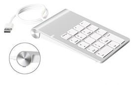Cateck Aluminum Finish USB Numeric Keypad for iMac, MacBooks PCs and Lap... - $17.92