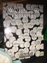 2004-2008  WASHINGTON QUARTER  COIN FOLDER  H. E. HARRIS / WHITMAN - NEW - $7.88