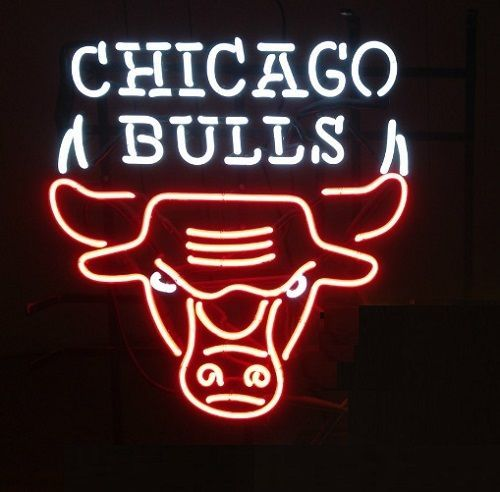 "New Chicago Bulls NBA Basketball Beer Neon Sign 24""x20"""