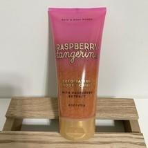 Bath and Body Works Raspberry Tangerine Exfoliating Body Scrub 6 Oz New - £11.63 GBP
