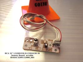 """Rca 32"""" L32HD35D B CEH443B Ir Sensor Board w/cable - $9.46"""