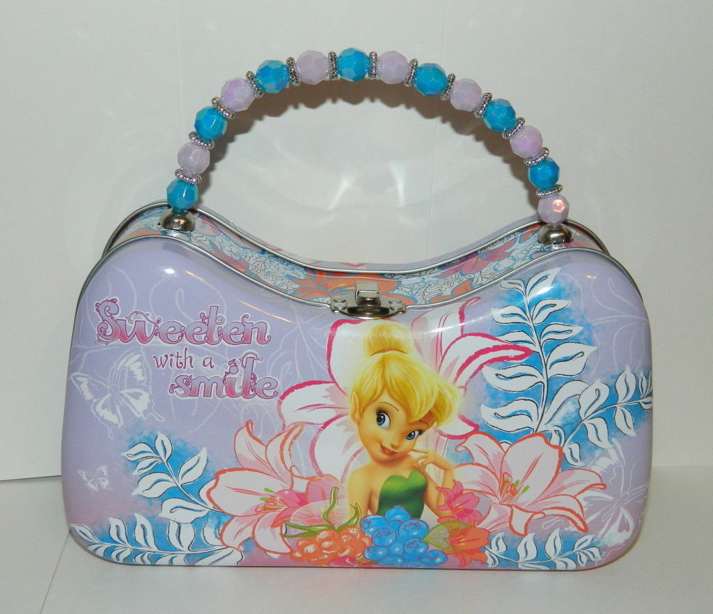 Walt Disney's Tinker Bell Girls Scoop Purse Carry All Tin Tote Style A, UNUSED