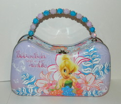 Walt Disney's Tinker Bell Girls Scoop Purse Carry All Tin Tote Style A, ... - $13.50