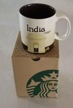 Brand New India Heritage Global Icon Starbucks City Coffee Mug 16 oz NIB - $39.11