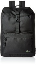 Lacoste Men's Flap Backpack Black - $116.88