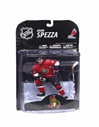 Mcfarlane NHL Jason Spezza Ottawa Senators 2009 wave 1 Action Figure Red Jersey