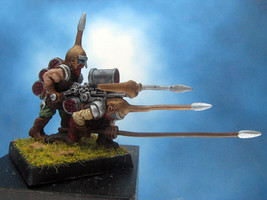 Painted Ral Partha Crucible Miniature Knomes - $34.83