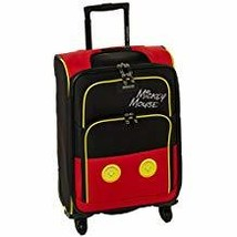 American Tourister Disney Mickey Mouse Pants Softside Spinner 21, Multi - $105.30