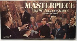 Vintage Masterpiece The Art Auction Board Game (1970) Parker Bros 100% c... - $58.79