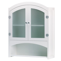 Wood Storage Cabinet, Modern Design, Glass Door Cabinet, Made Of Wood - $119.85