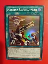 First Edition Machina Redeployment Super Rare Card - SR10-EN023 MINT!!! - $1.97