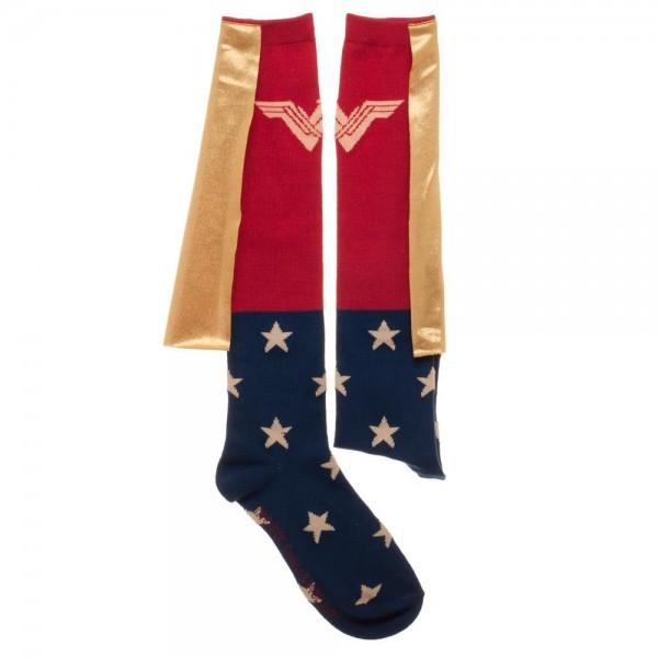 Wonder Woman Movie Caped Knee High Socks