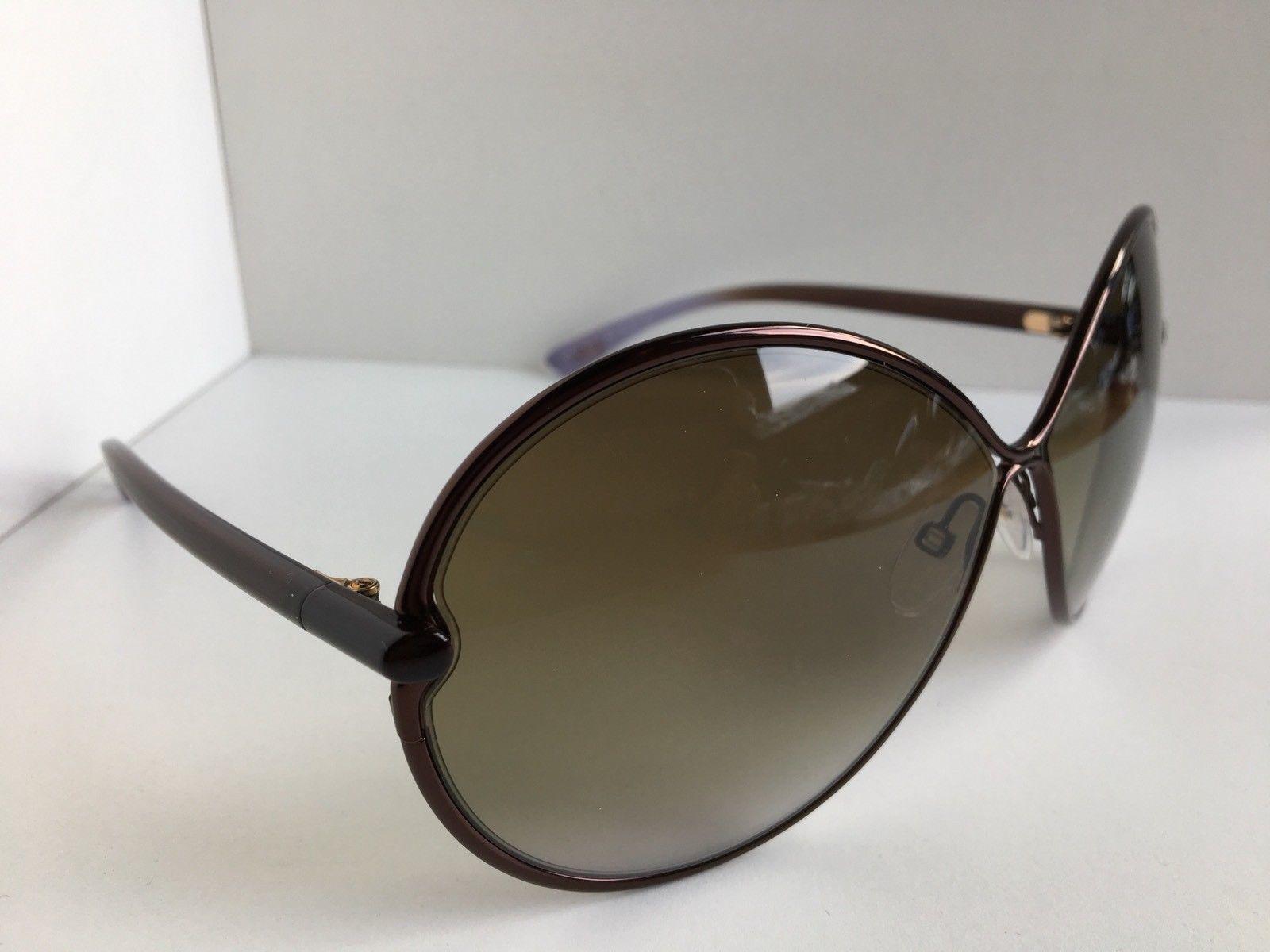 9eb1c5c79ac03 Tom Ford Stefania TF 223 48F 65mm Bronze Oversized Women s Sunglasses T1