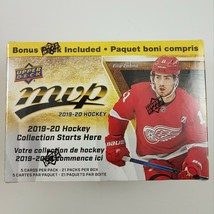 2019-20 Upper Deck MVP Hockey Blaster box sealed 21 packs of 5 NHL cards... - $32.40