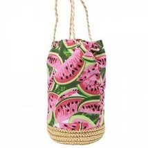 Casual Watermelon Print and Weaving Design Shou... - $5.80