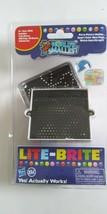 World's Smallest LITE-BRITE Mini Hasbro with Lite Board, Pegs, Sheets - NEW - $16.65
