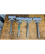 set of 4 Ridgid pipe roller heads for stands - $198.00