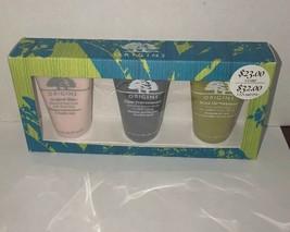 Origins Purify Hydrate Glow Three Piece Set Clear improvement Drink Up I... - $20.00