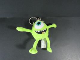 Monsters Inc Mike Wasowski Plush Keychain Figure Toy Disney Kraft 1 Vintage - $9.89