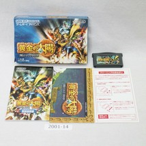 Nintendo Gameboy Advance Golden Sun Ougon No Taiyo Scatola Lavoro Japan ... - $22.22