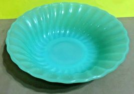 """1960'S ANCHOR HOCKING/FIRE KING JADEITE SHELL CEREAL BOWL  6 5/8"""" - $24.95"""